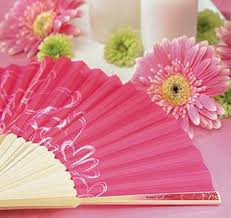 paper fans for weddings wedding fans fan favors wedding fan favors