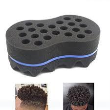 hair twist sponge amazon com riorand magic twist hair sponge barber sponge brush