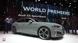 auto 5 porte nouvelle audi a5 sportback mondial de l auto le coup礬 5 portes