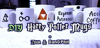 diy harry potter mug ideas charles linnell youtube