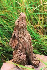 wooden garden statues lawn ornaments ebay