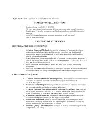 Resume Summary Of Qualifications Resume For Aviation Resume For Your Job Application