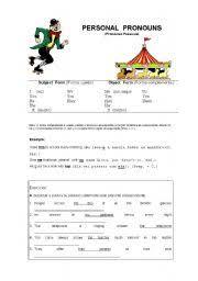 english worksheets pronouns worksheets page 67