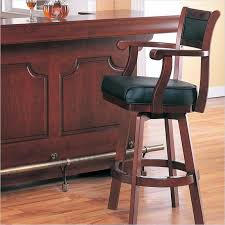 Bar Stool With Arms Black Leather Swivel Bar Stools With Arms U2013 Yamahakeyboards Info