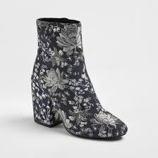target womens boots zipper s arie brocade booties merona target