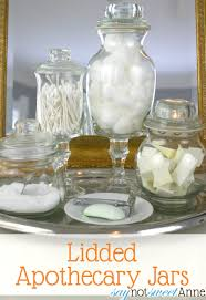 how to make upscale apothecary jars tutorial