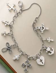bracelet charms cross images James avery cross charms shown on a twisted wire cable link jpg