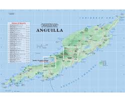 Physical Map North America by Maps Of Anguilla Detailed Map Of Anguilla In English Tourist