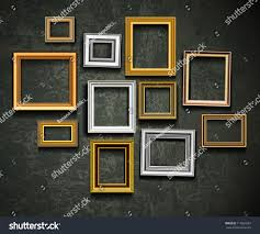 Picture Frame On Wall by Frame Vector Photo Picture Art On Stock Vector 117861697