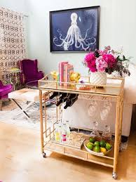 How To Design Your Own Home Bar How To Create A Beautiful Bar Cart Whitney Port