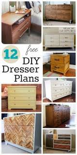 best 25 dresser plans ideas on pinterest diy dresser plans diy