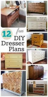 Woodworking Plans Bedroom Furniture Free by Best 25 Dresser Plans Ideas On Pinterest Diy Dresser Plans Diy