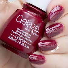 china glaze gelaze u2013 seduce me nail polish pinterest china