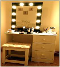 dressers for makeup vanity mirror dresser lights with and makeup awesome classic