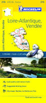 Loire Valley France Map by