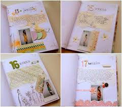 tagebuch selbst designen schwangerschaftstagebuch selber machen und führen tipps und ideen