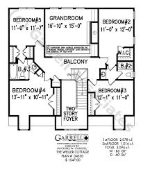 cottage blueprints weller cottage house plan house plans by garrell associates inc