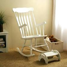 Rocking Chairs For Nurseries White Wooden Rocking Chair Nursery Best Nursery Rocking Chairs In