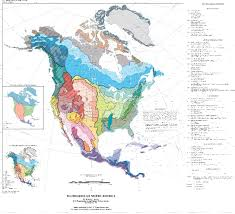 Map Of The North America by Ecological Maps Of The Heart Mind For The Grounded Global