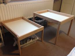Ikea Changing Table Hack David Low Live Two Changing Tables From One