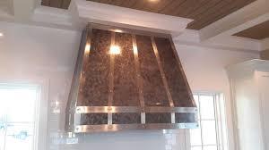 kitchen range hood design ideas decor bronze and stainless custom range hoods for kitchen