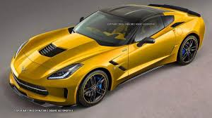 corvette zr1 yellow what the 2015 corvette zr1 could look like autoweek