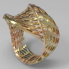 parametric ring design by radul shishkov tutor for algorithmic