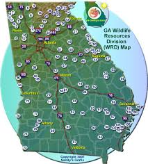 Georgia wildlife tours images Georgia wildlife resources map jpg