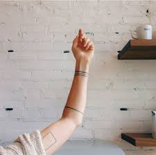 tribal armband tattoo good luck or bad luck 20 minimalist tattoos for the design lover tattoo squares and