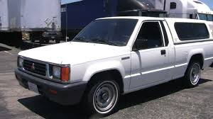 mitsubishi pickup 1990 1994 mitsubishi mightymax youtube