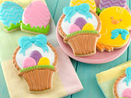 decorating easter baskets how to make easter basket cookies semi sweet designs