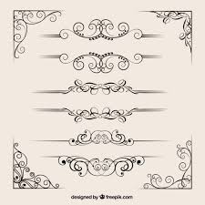free vector art images graphics for free download ornamental dividers collection vector free download