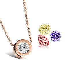 necklace pendants letters images Necklace pendant interchangeable jewelry white red purple yellow jpg