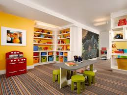 storage lovely bedroom decor for kids cream painted walls idea