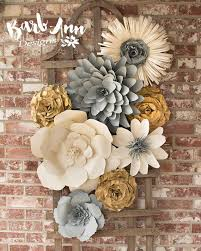 wedding backdrop design template best 25 paper flower wall ideas on paper flower