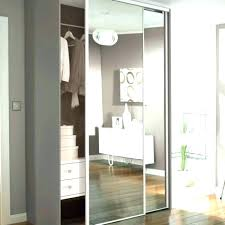 Mirror Sliding Closet Doors For Bedrooms Closet Doors Sliding Happyhippy Co