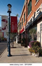 easton town center shopping mall in columbus ohio stock photo