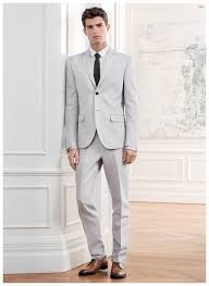 light gray suit brown shoes h m men s style guide how to dress for summer weddings after