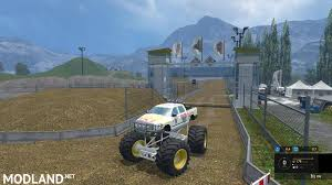 monster truck jam 2013 monster truck jam v 2 0 mod for farming simulator 2015 15 fs
