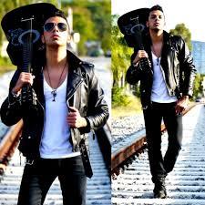 biker apparel franko dean vintage biker leather jacket zara black jeans