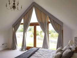 Curtains For A Large Window Inspiration Curtain Ideas For Large Windows Ghanko