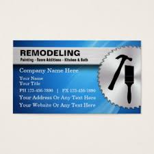 Business Cards Painting Custom Residential Contractor Business Cards Zazzle Co Uk