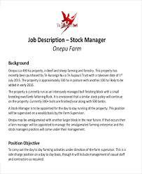 Resume For Casual Jobs by Stocker Job Description Sample Stock Associate Job Description