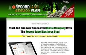 record label business plan review can you make record label money