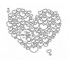 12 hearts coloring pages images hearts draw