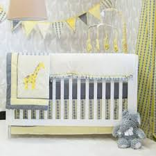 Grey And Yellow Crib Bedding Yellow Baby Bedding For Less Overstock