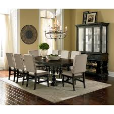 dining room brown upholstered dining chairs with kreiss furniture