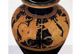 Clay Vase Painting After 2 500 Years A Solo Show Athenian Vase Painting Wsj