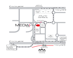 media one hotel at dubai media city location map address phone