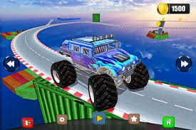 3d monster truck stunt racing monster truck stunts impossible tracks 3d android apps on google